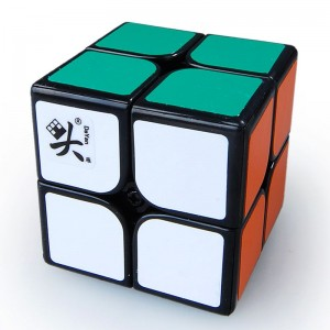 Dayan 46mm 2x2 Speed Cube Magic Cube Black
