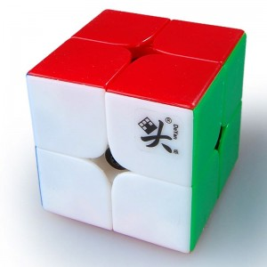 Dayan 50mm 2x2 Speed Cube Magic Cube Stickerless