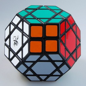 DaYan Gem Cube IV Magic Cube Puzzle Game Toy Wth Black Edge