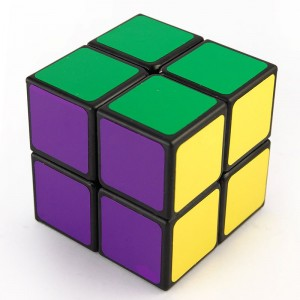 Lanlan 2x2 Speed Cube Black