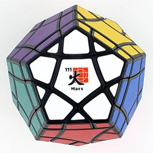 Mf8 Bermuda Megaminx Eight Planets Series Magic Cube Mars Black
