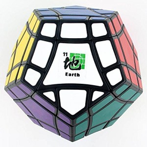 Mf8 Bermuda Megaminx Eight Planets Series Magic Cube Earth Black