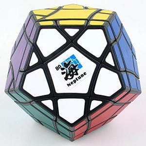 Mf8 Bermuda Megaminx Eight Planets Series Magic Cube Neptune Black