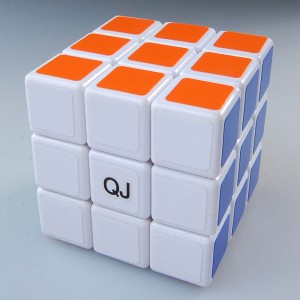 QJ 3x3 Speed Cube White  5.7cm