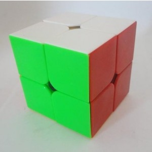 QiYi 2x2x2 50mm Speed Cube Puzzle, Stickerless