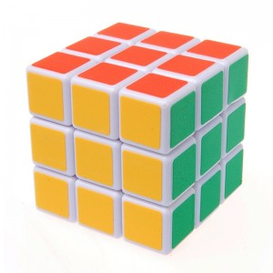 YJ 3x3 Speed Cube White