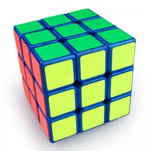 YJ Moyu Weilong 3x3x3 57mm Speed Cube Blue