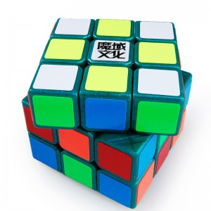 YJ Moyu Weilong 3x3x3 57mm Speed Cube Green