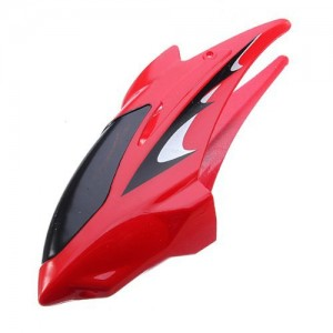 Cockpit Nose/Head for S107 3D RC Helicopter (Red)