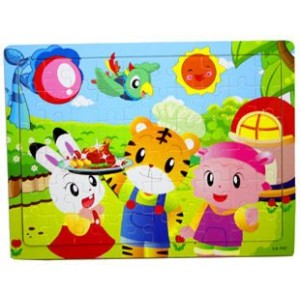 QiaoHu tiger 60 Piece Kids Jigsaw Puzzle