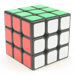 QiYi MoFangGe QiHang 3x3x3 Magic Cube Speed Twist Puzzle Black