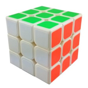 YongJun (YJ) GuanLong 3x3x3 57mm Magic Cube White