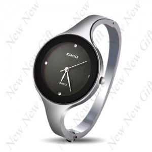 New Arrival ~ Elegant Bangle Bracelet Wrist Watch with Thin Alloy Strap for Girl Woman Lady