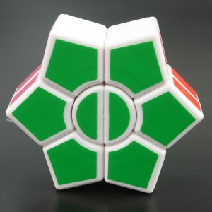 DianSheng two-layer SQ1 Magic Cube White