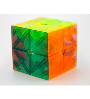 YJ Yongjun Yupo 2x2x2 Magic Cube Transparent